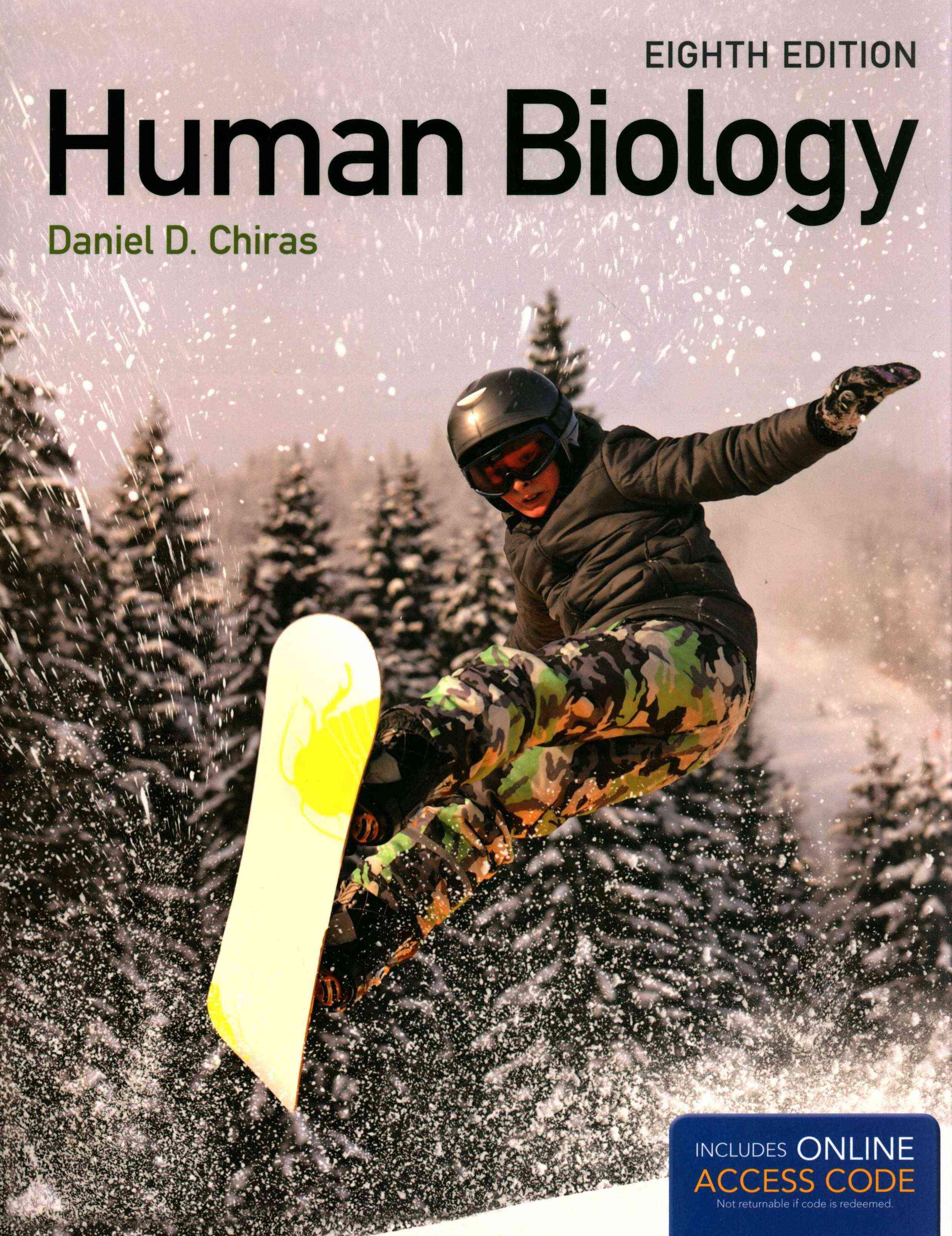 Human Biology By Chiras, Daniel D.